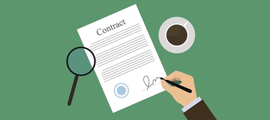 Bannière contrat agile