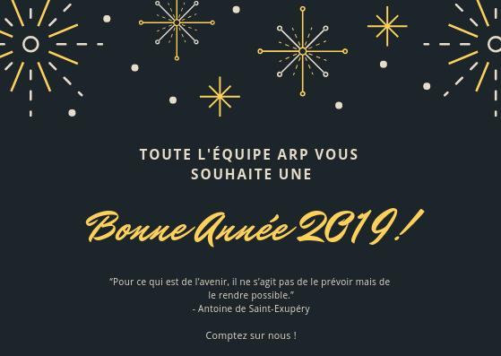 Bonne année ARP