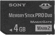 Carte mémoire 4 Go Sony PRO Duo Mark2