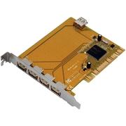 Carte E/S 4 x USB 2.0 ext.+ 1 x int. PCI