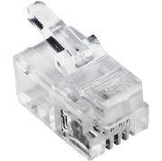 Connecteur modulaire RJ10 4P/4C