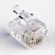 Connecteur modulaire RJ11 6P/4C