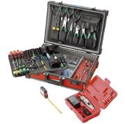 Valise à outils Jumbo, 100 pièces