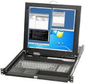 Console rack commutateur KVM 43,2 cm