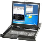 Console rack commutateur KVM 48,3 cm