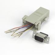 Adaptateur modulaire DB9 m.-RJ45 8P/8C