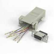 Adaptateur modulaire DB9 f.-RJ45 8P/8C
