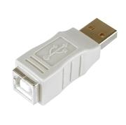 Coupleur USB type A m. - type B f.