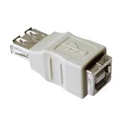 Coupleur USB type A f. - type B f.