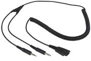 Câble casque ARP QD vers 2 x jack 3,5 mm