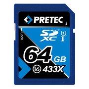 SDXC PRETEC classe 16, 64 Go 433x