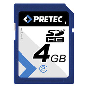 Carte SDHC 4 Go PRETEC classe 2