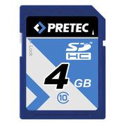 Carte SDHC 4 Go PRETEC classe 10