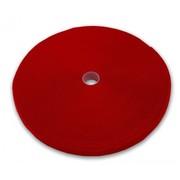 Roul. serre-câbles Velcro 25mx13mm rouge