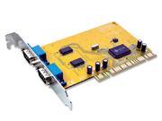 Carte E/S 2 ports série RS232 PCI