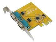 Carte E/S 2x RS-232 série PCI-Express