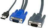 Câble pieuvre KVM USB+VGA - DB15HD 1,8 m