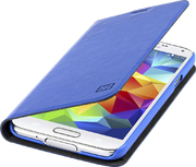 Étui portefeuille ARP p. Galaxy S5, bleu