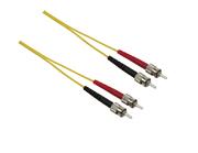 Câble FO duplex ST/ST 1 m 9/125 µm