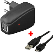 Chargeur USB ARP 2 A + micro USB 1,8 m