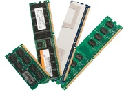 Kit mémoire DDR2-400 enrég. simple 1 Go