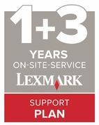 4Y de garantie sur site Lexmark
