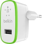 Chargeur USB Belkin 2 400 mA, blanc