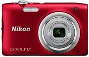 App photo num. Nikon Coolpix A100, rouge
