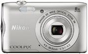 Appareil photo Nikon Coolpix A300 argent