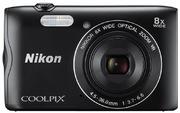 Appareil photo Nikon Coolpix A300, noir
