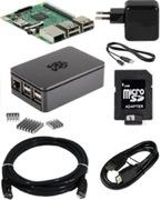 Bundle mini PC Raspberry Pi 3, noir