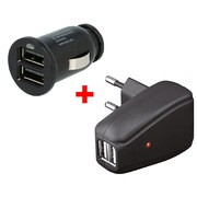 Chargeur ARP Travelkit 2x USB