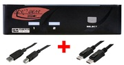 Switch KVM ARP 1:2 USB, DisplayPort