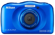 App. photo num. Nikon Coolpix W100 bleu