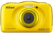 App. photo num. Nikon Coolpix W100 jaune