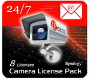Licence caméra NAS Synology, x 8