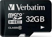 Carte microSDHC 32 Go Verbatim