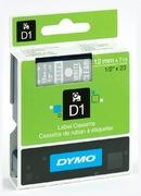 Ruban DYMO D1 bleu sur blanc 12 mm