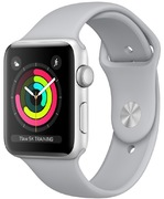 Apple Watch S3 Alu 38 mm GPS, argent