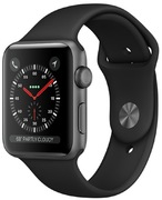 Apple Watch S3 Alu 38 mm GPS, gris sid.