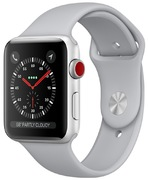 Apple Watch S3 Alu 38 mm Cellular argent
