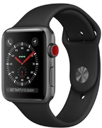 Apple Watch S3 Alu 38 mm Cellular, gris