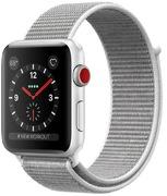 Apple Watch S3 Alu 38 mm Cellular argent