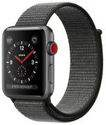 Apple Watch S3 Alu 38 mm Cellular, gris