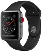 Apple Watch S3 Alu 42 mm Cellular, gris